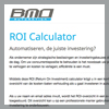 ROI marketing tool voor BMO Automation